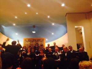 The Zemel choir at Belsize Square, March 2014