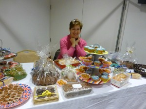 Bazaar cake stall