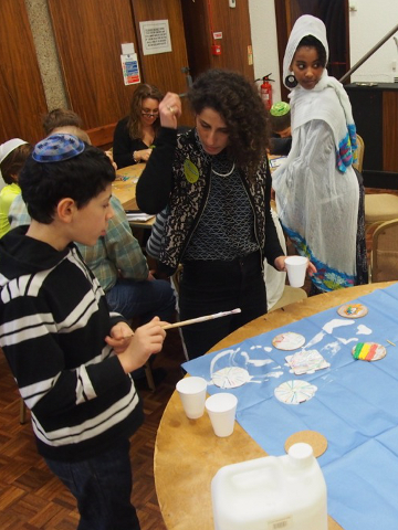Mitzvah Day at Cheder