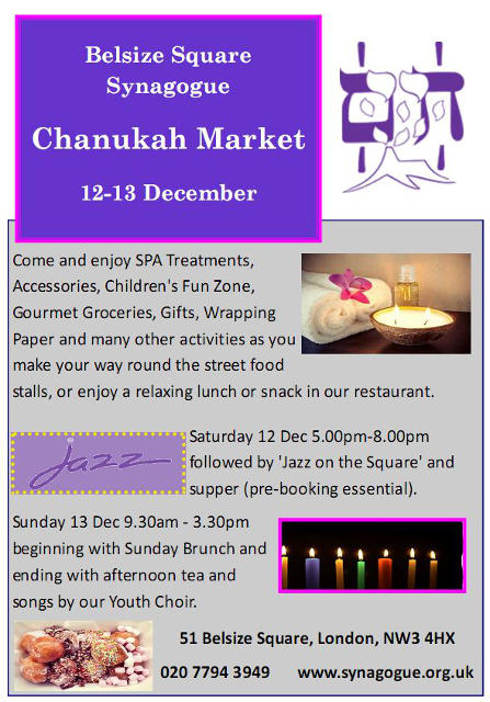 Chanukah Market flyer