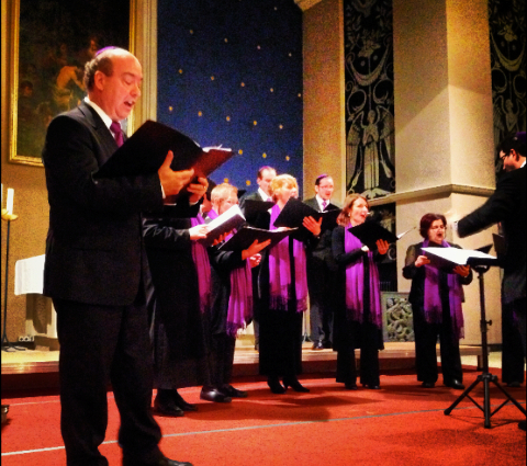 Belsize Square Synagogue Choir sings at the International Louis Lewandowski Festival, with Cantor Paul Heller and Choirmaster Ben Wolf