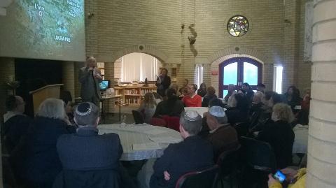 Beth Shalom Holocaust Centre visit, 27 April 2014