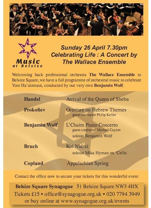 Concert 26 April