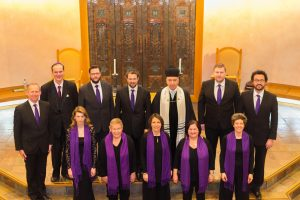 Professional choir and cantor